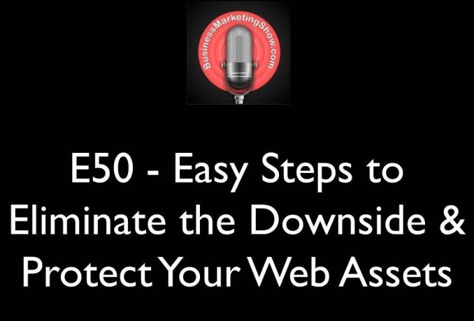 E50 - Easy Steps to Eliminate the Downside & Protect Your Web Assets